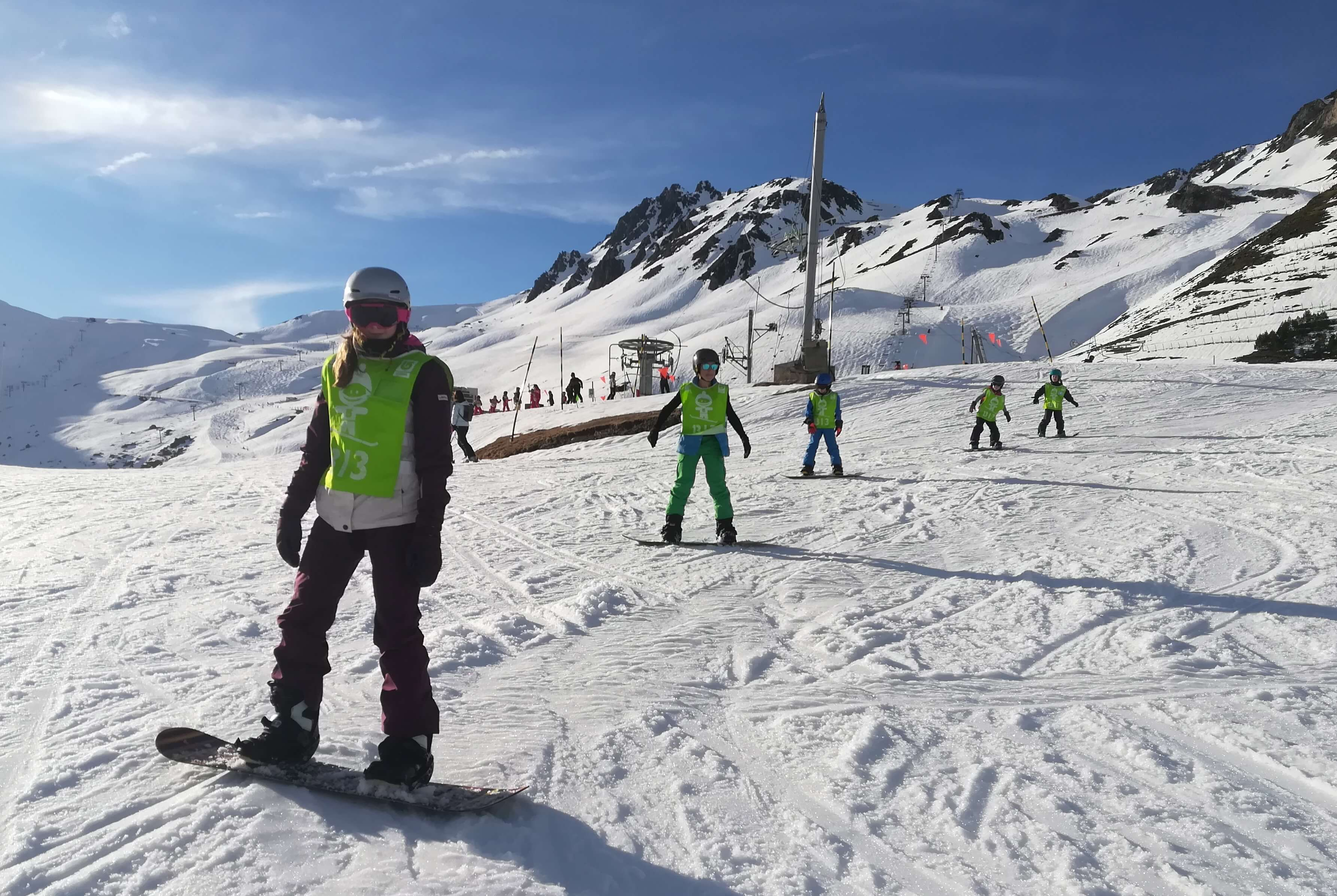 Cours Collectifs snowboard