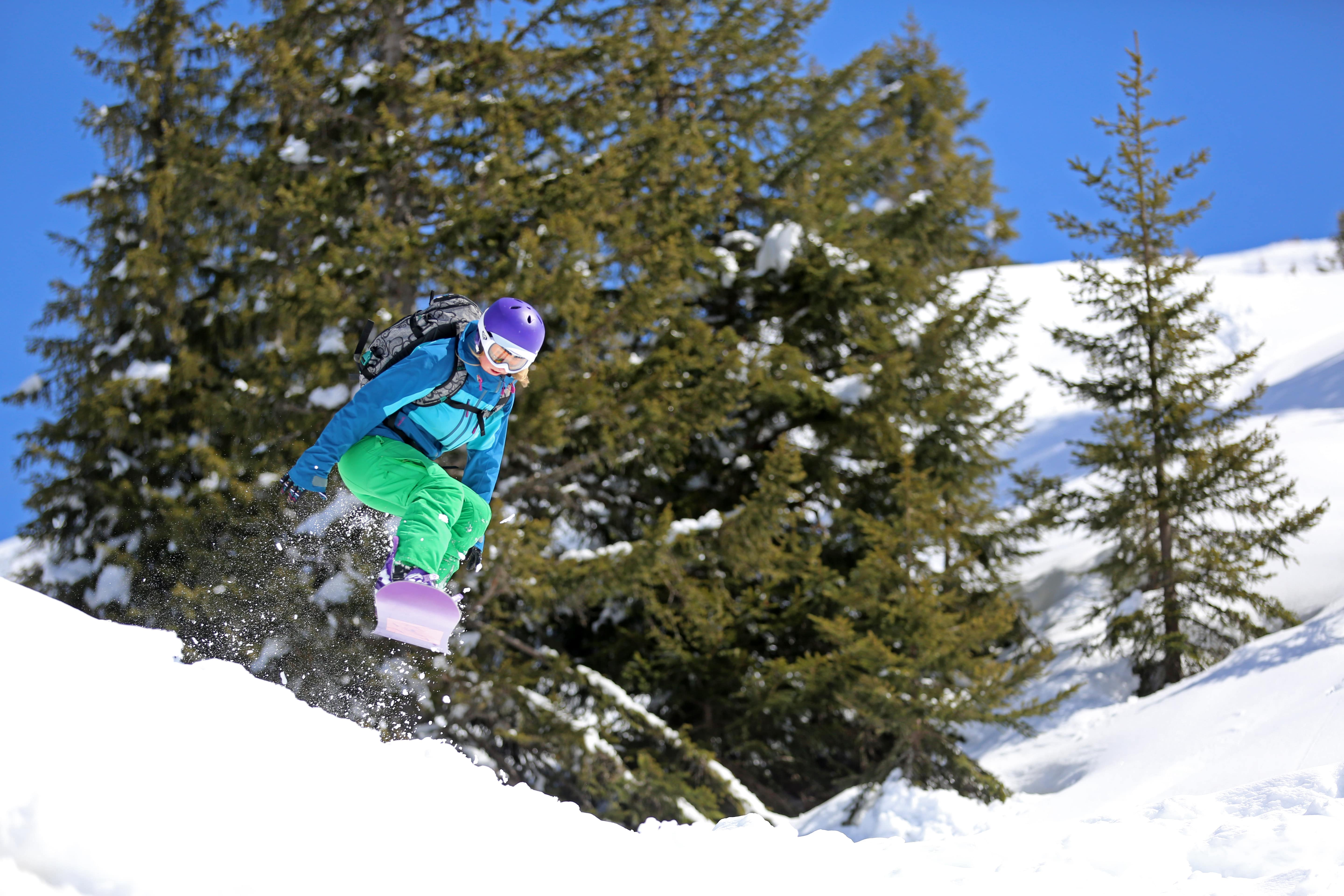 cours freestyle snowboard