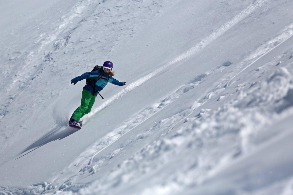 Adele Hoffman Cours de snowboard