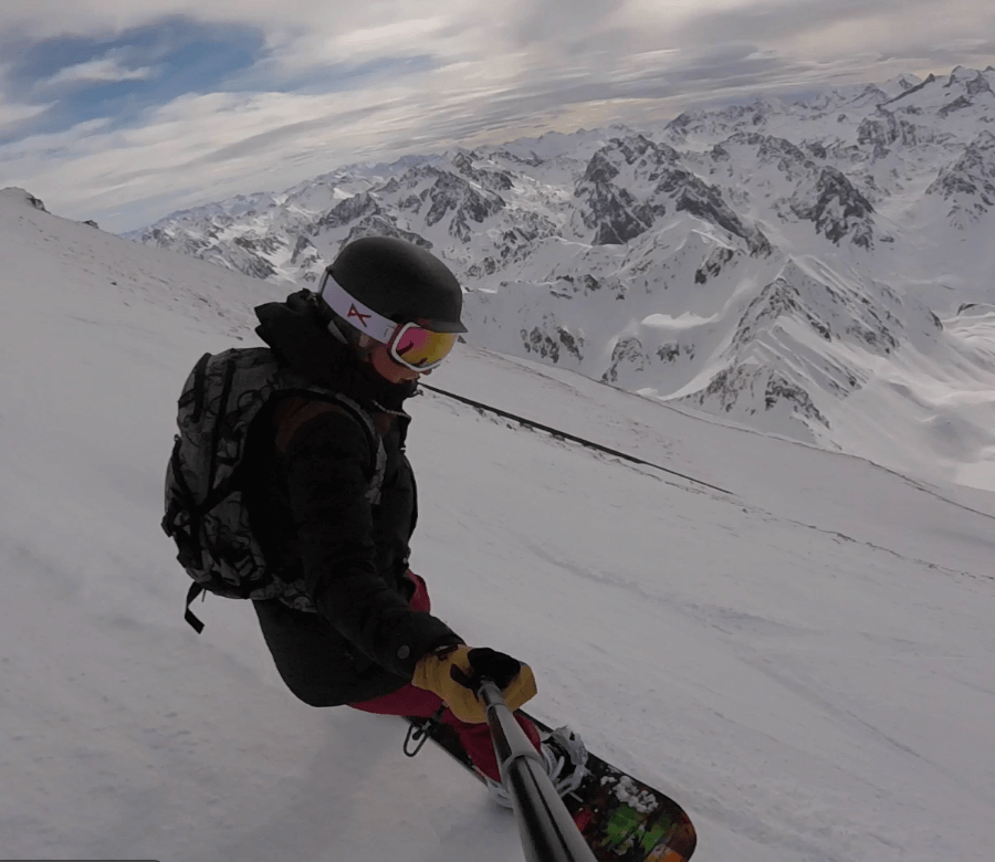 Ecole snowboard pyrénée